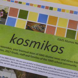 Inner Sydney Montessori Alumni magazine Kosmikos.