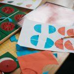 Montessori fractions circles.