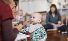 Infant and child interaction in Infant Community Infant Community
